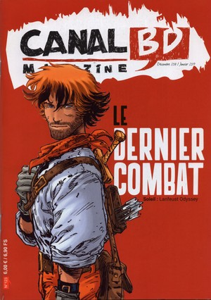 Canal BD magazine - 123.